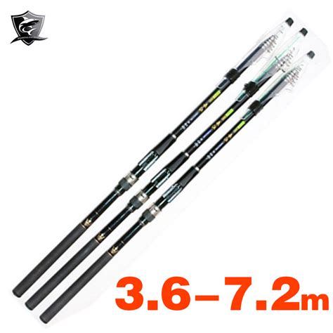 Fatools 01002 80 Stick Size 4m high carbon fiber telescopic fishing rod spinning pole surf stick rock fishing pole 3 6