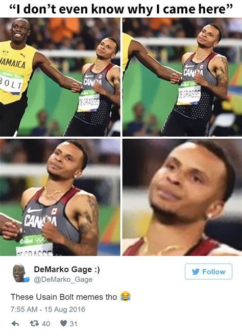 Usain Bolt Memes - 10 hilarious reactions to usain bolt s winning smile bored panda
