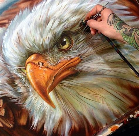 eagle painting by derek turcotte