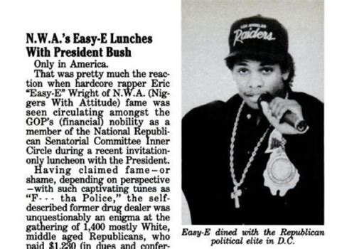 eazy e white house flashback friday eazy e at the white house kday fm