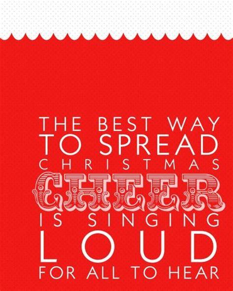 printable cheer quotes buddy the elf christmas cheer printable cool pinterest