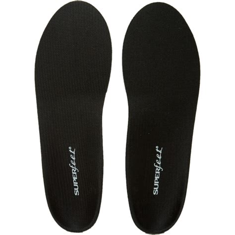 superfeet trim to fit black insole backcountry