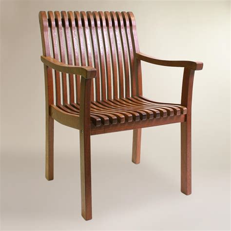 world market armchair wood catania armchair world market