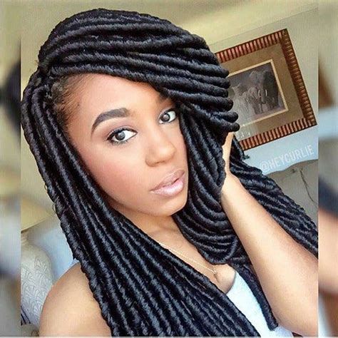 pictures of twisting braids made with dread attachment on bella naija 213 best images about crochet hairstyles on pinterest