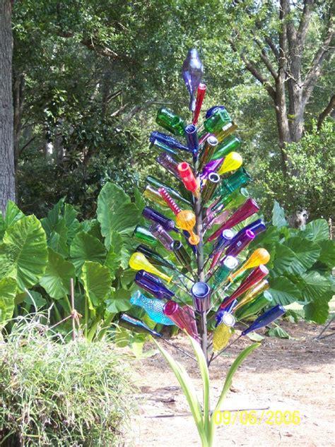 bottle trees on bottle trees wine bottle - How To Make A Wine Bottle Tree
