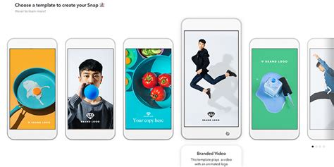 Snapchat Is Ring Up Agency Services And Unleashing The Next Generation Of Its Ad Business Snapchat Ad Template