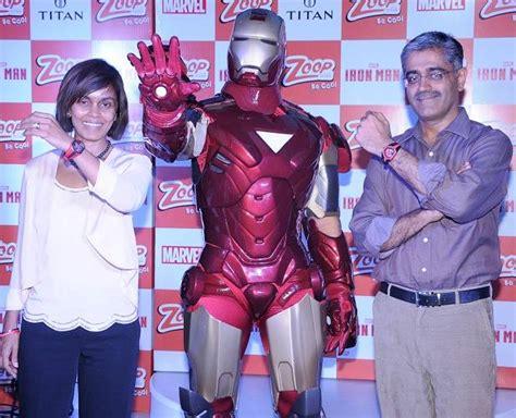 titan partners marvel launch zoop iron man watches