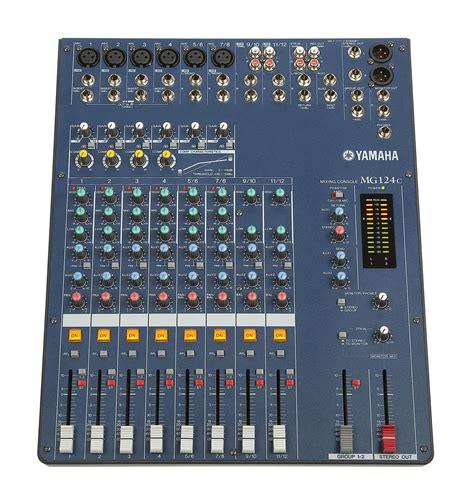 Harga Mixer Yamaha 12 Channel discontinued mg124c yamaha mg series 12 channel 4 buss