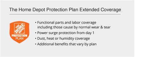 the home depot protection plans