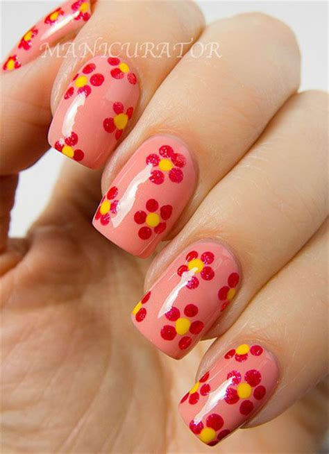 simple nail art designs 2014 simple spring nail art designs ideas trends 2014 for
