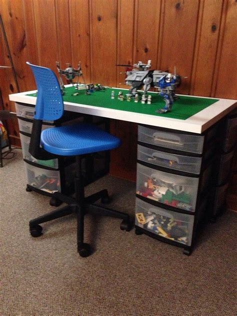 easy diy lego table brilliant diy tables for storing and with lego diy projects for everyone