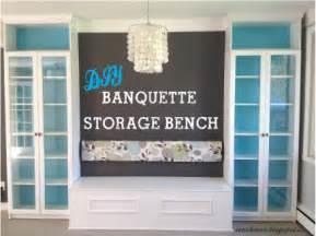 zen shmen diy banquette storage bench