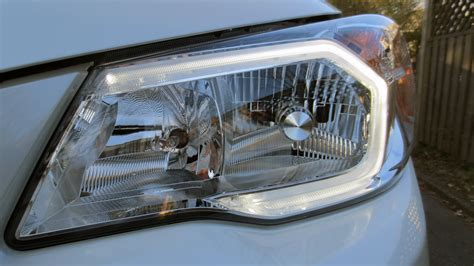 subaru headlight styles 2014 subaru forester 2 5i review keyless entry hid