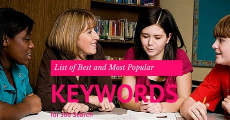 What Search For Most Popular Keywords List Of Best And Most Popular Keywords For Search Wisestep
