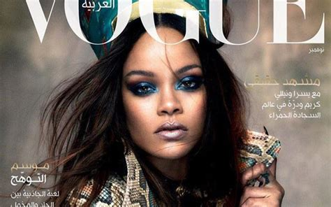 rihanna pays homage to queen nefertiti for vogue arabia rihanna pays homage to queen nefertiti in the cover of