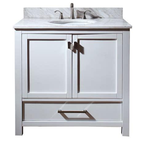 36 modern bathroom vanity avanity modero 36 quot bathroom vanity white free shipping
