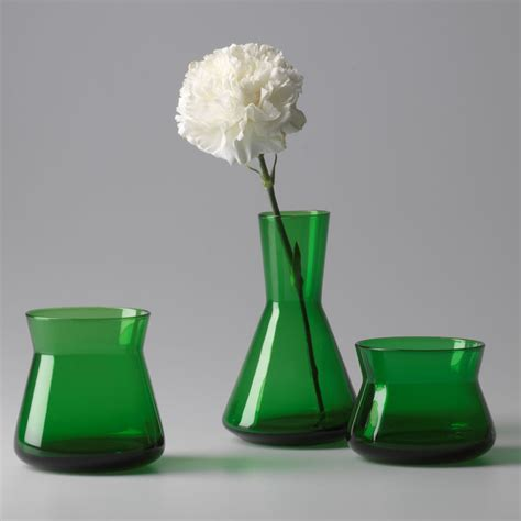 Green Glass Vases Bulk by Vases Design Ideas Green Glass Vases Express Your Decor