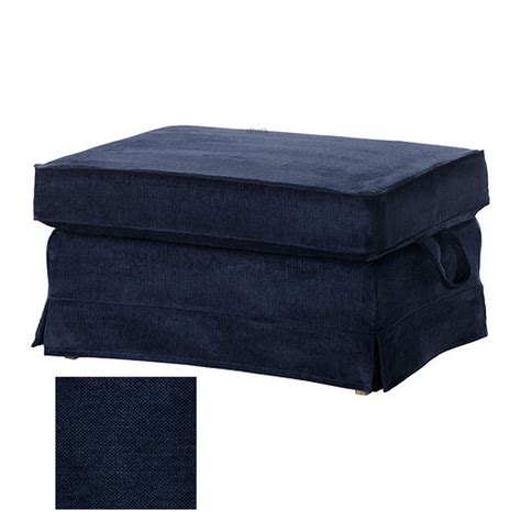 ottoman covers ikea ektorp bromma footstool cover ottoman slipcover