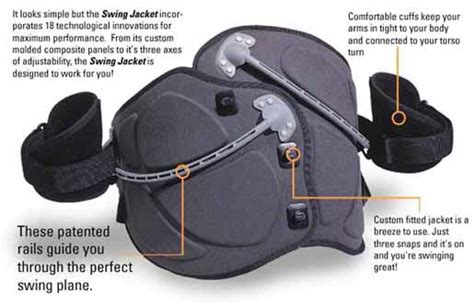 Swing Jacket Golf Swing Trainer At Intheholegolf Com