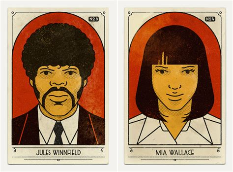 gifts for pulp fiction fans fan art posters of pulp fiction fubiz media