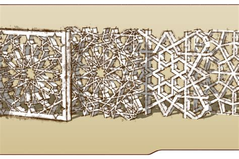 islamic pattern block islamic patterns sketchup 3d cad model grabcad