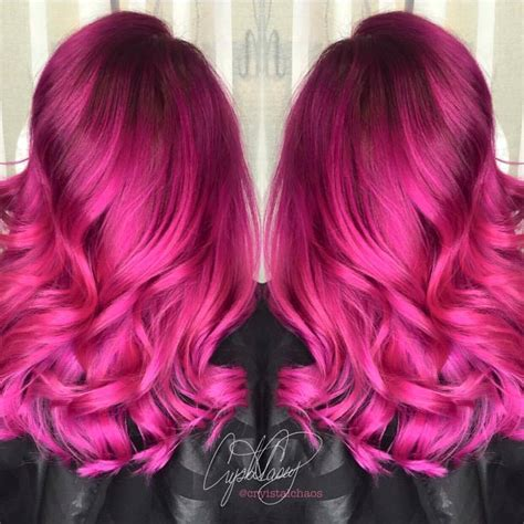fuchsia hair color hairspotting top hairstyles to fall in with the
