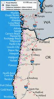 map of coastal cities oregon coast real estate homes houses views