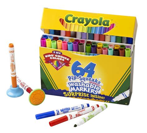 Crayola Washable Pip Squeaks Kit pip squeaks skinnies sets by crayola materials