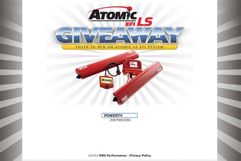 ls plus promotional code msd giveaway new atomic efi for ls system promo code