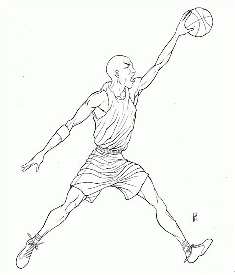 Coloring Pages For Michael Jordan Coloring Home Michael Coloring Pages