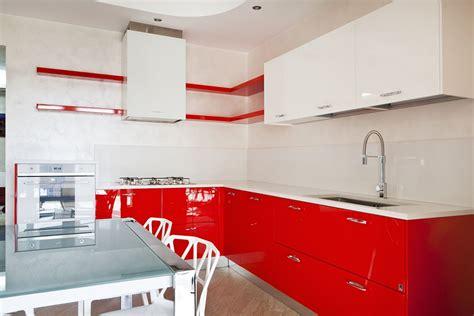 cucina rossa laccata best cucina rossa laccata photos ideas design 2017