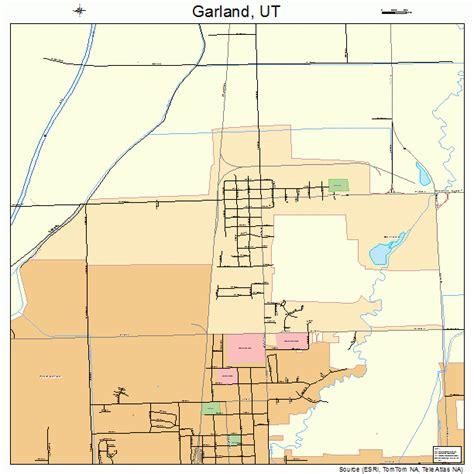 garland utah map garland utah map 4928150