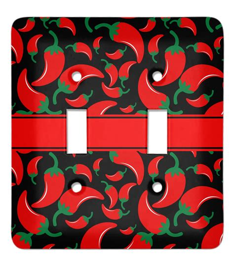 chili pepper light covers chili peppers light switch cover 2 toggle plate
