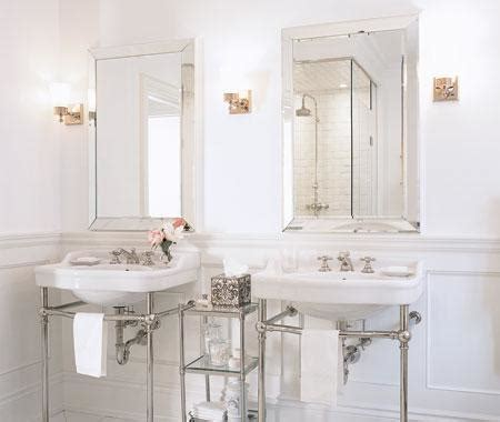 beveled mirror bathroom beveled mirrors design ideas