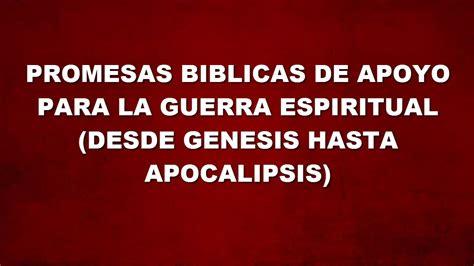 promesas biblicas promesas b 205 blicas para la guerra espiritual v2 youtube