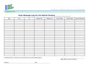 free log book template 8 best images of monthly mileage log template printable