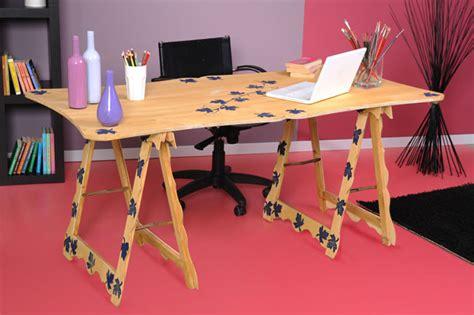 scrivania con cavalletti tavolo con cavalletti fai da te bricoportale fai da te