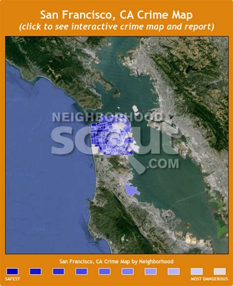 san francisco crime map 2015 san francisco crime rates and statistics neighborhoodscout