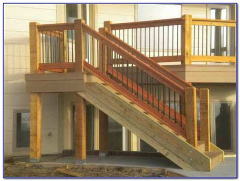 Deck Stair Handrail Height railing height bc building code driverlayer search engine