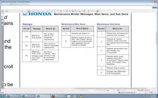 maintenance minder code b12 honda accord forum v6