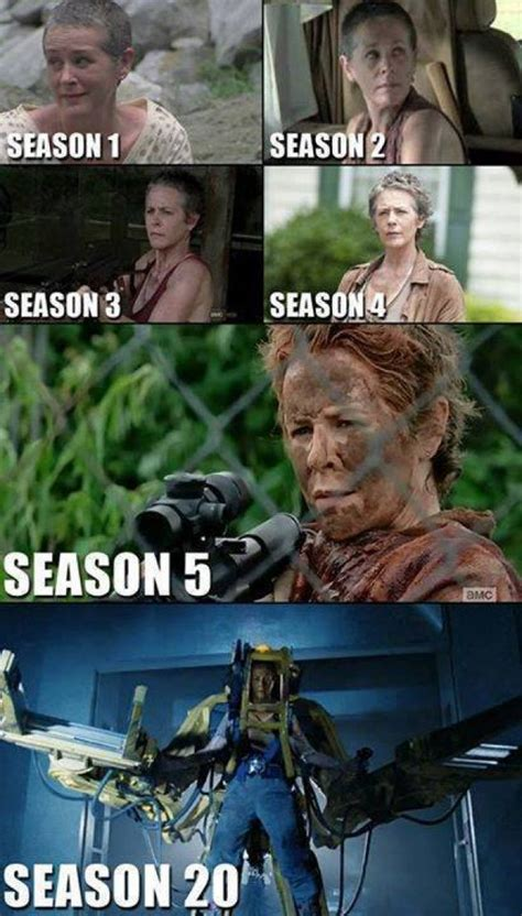 Walking Dead Carol Meme - best memes from season 5 of the walking dead
