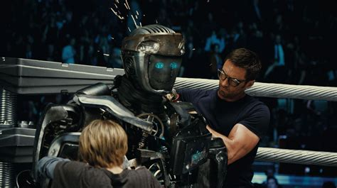 film robot di rtv real steel review collider