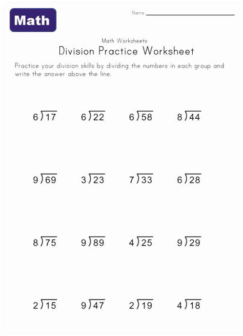 free printable division worksheets with remainders division worksheet six with remainders stuff to buy