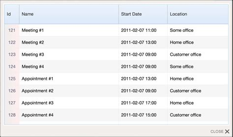 format date extjs grid view data format in sencha touch