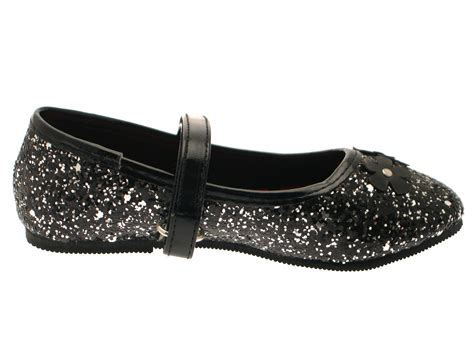 Home Designer Pro Ebay by Girls Glitter Flower Party Shoes Mary Janes Flat Ballet