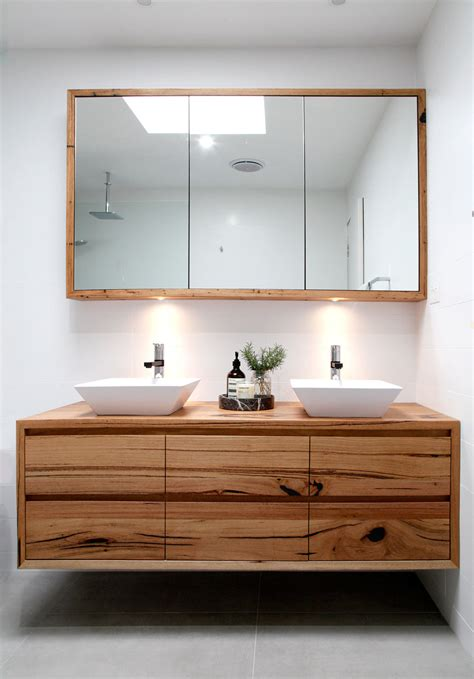 Timber Bathroom Vanities Recycled Timber Furniture Design