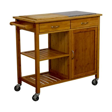 linon kitchen island 48 linon home linon home bamboo rolling kitchen island tables