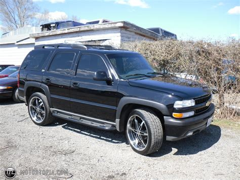 chevrolet tahoe  informations articles