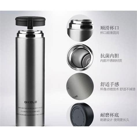 Termos Botol Minum 450 Ml Silver qkella botol minum thermos stainless steel 450ml silver
