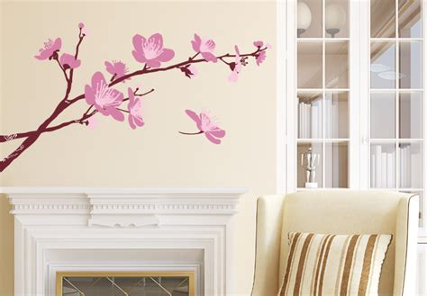 blossom wall stickers cherry blossom wall decor stickers images